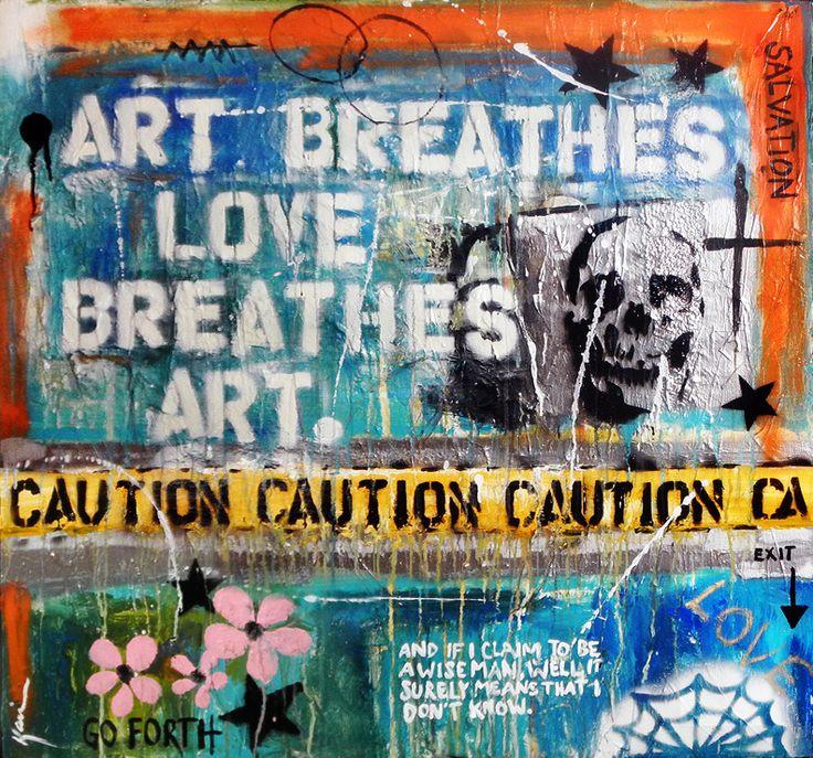 'Art Breathes Love Breathes Art.': Artists Eye, Contemporary Artists, California Native, Raw Art, Breath Art, Kami Lerner, Mind Things, Art Breath, Selftaught Raw