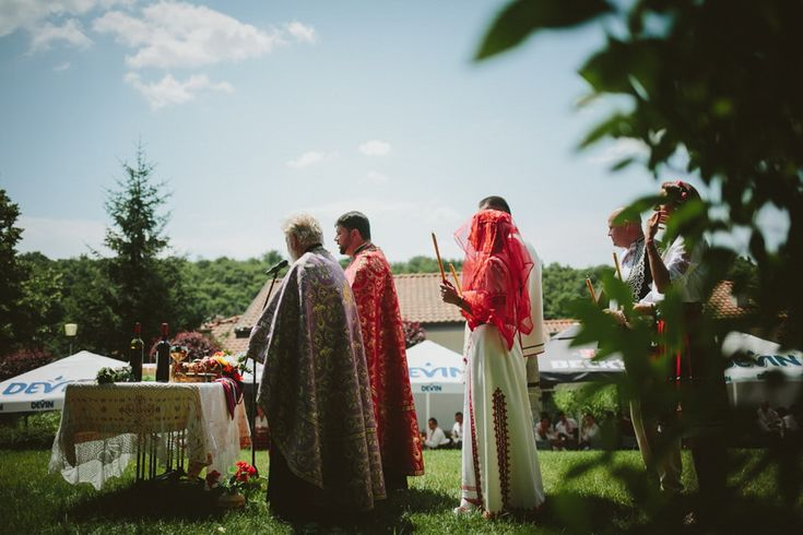 Wedding at the top of Pleven hills