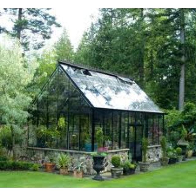 Greenhouse idea 3 (still do some stone along bottom)