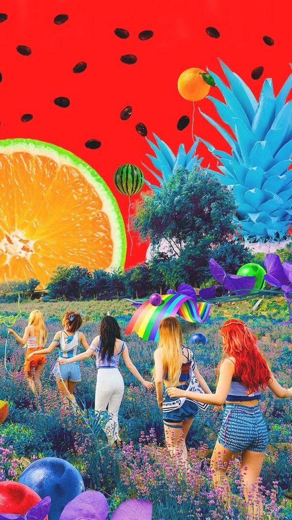 Red Velvet // Amazing lockscreen of the Red Flavor MV