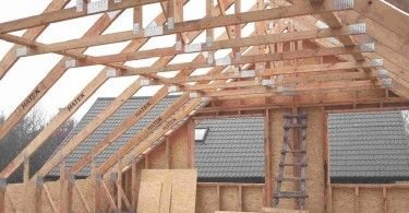 Мансардные крыши частных домов - фото в 2020 г | Каркасные ...