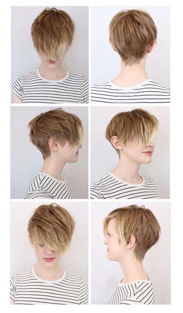 Hair Muse: Soft Undercut Pixie