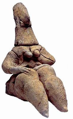 Goddess figurine Shaar HaGolan Pottery Neolithic