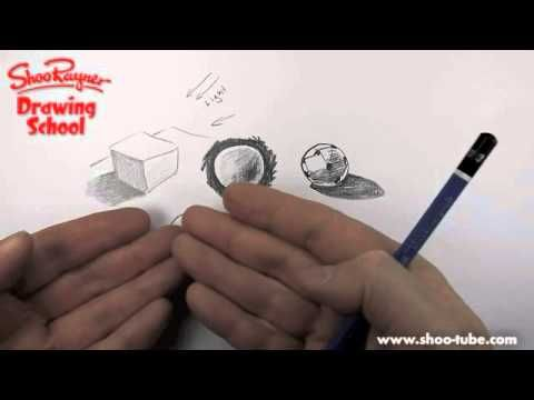 How to shade with pencil ~ Drawing school