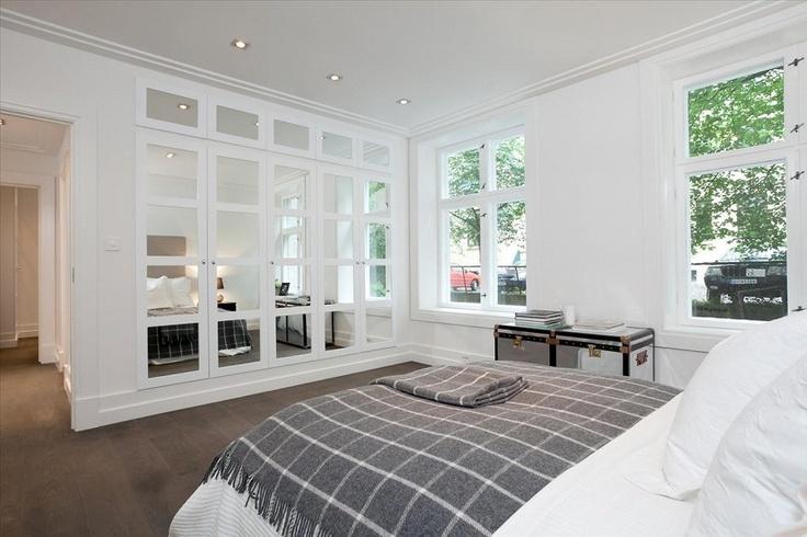 Bedroom With Custom Built Wardrobe Bedrooms Pinterest