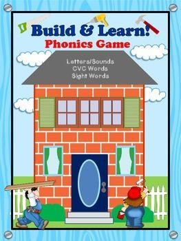 Build & Learn Phonics Game