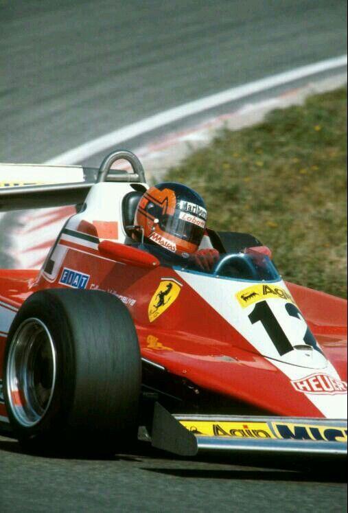 Gilles Villeneuve, Dutch GP, Zandvoort, 1978.