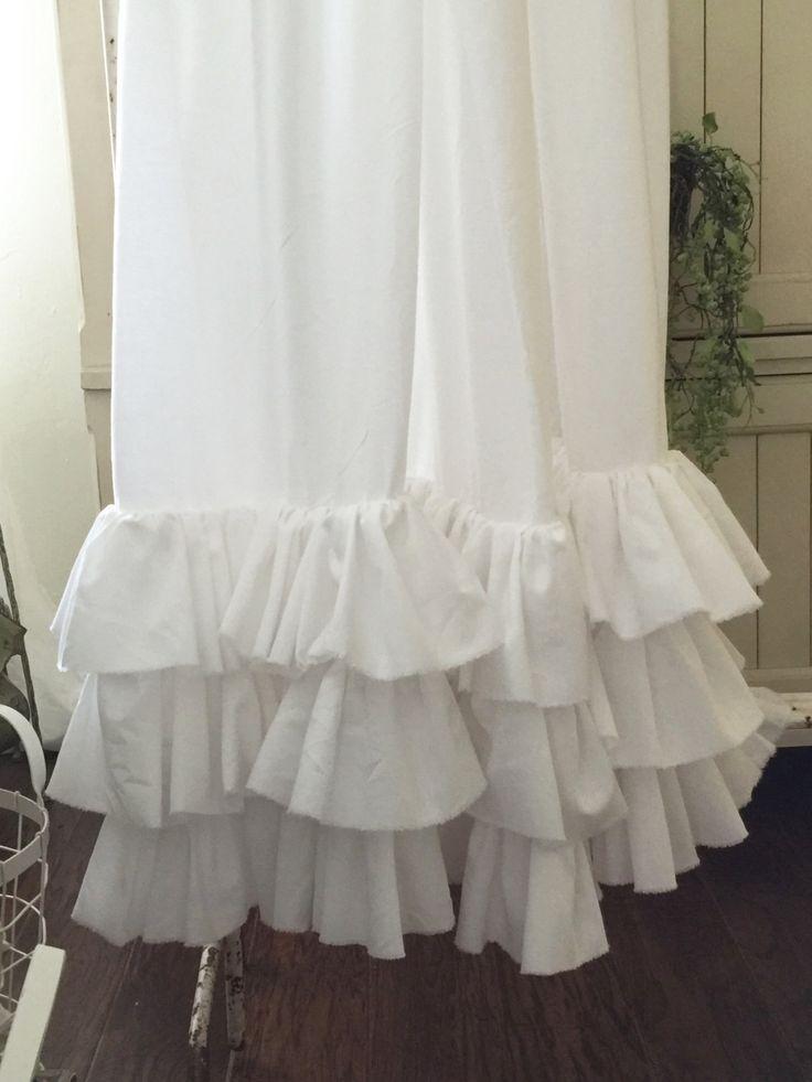 M s de 25 ideas fant sticas sobre cortinas con volantes en - Volantes de cortinas ...