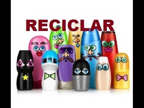 Ideas para: Reciclar botellas de champú geniales ideas Creativas.