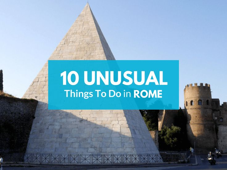 Go off-the-path with cool alternative 10 things to do in Rome - perfect for families and shoestring-budget travel lovers of Ancient Rome and Modern Italy