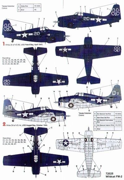 E Fe Afec F D Eb B Cf Ee Scale Models Camouflage on F4f Wildcat Paint Colors