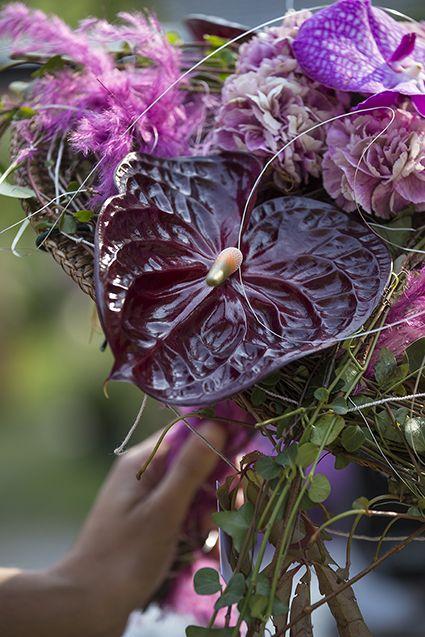 Tra le dimostrazioni di composizione floreale con Giovanni Ratti  (Foto di Dario Fusaro)