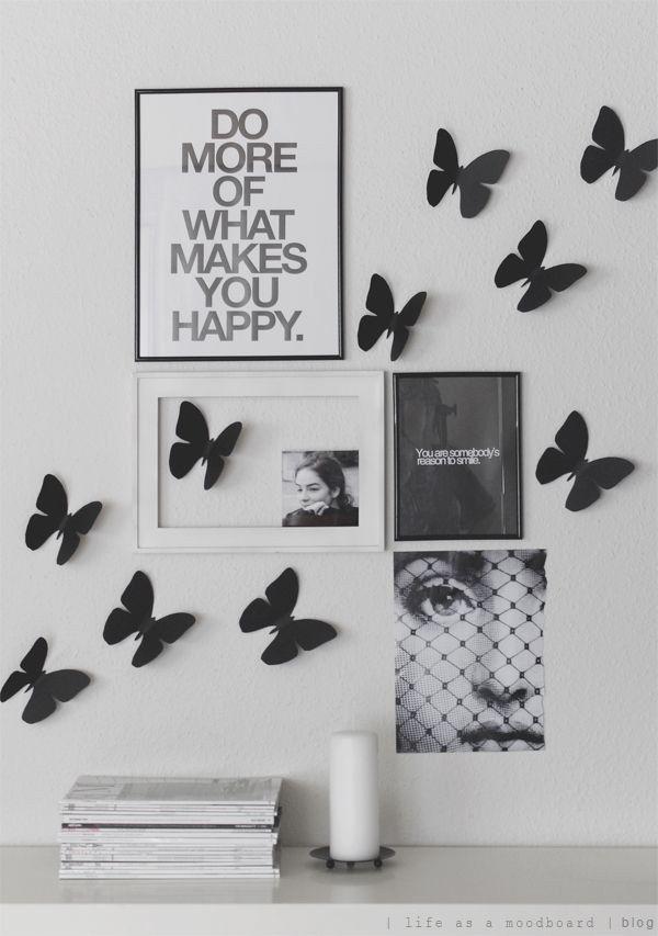 Aposte no itens de decoração preto e branco. | 21 dicas de decoração para uma casa gótica suave
