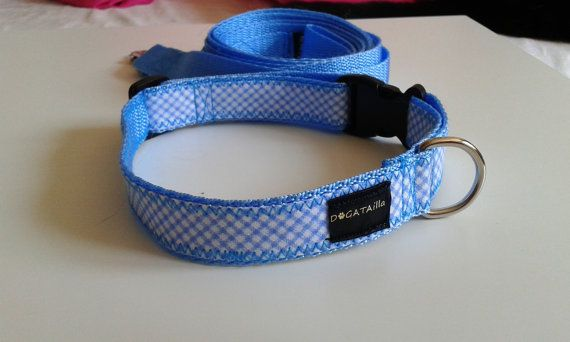 Ellegant adjustable vichy collar for real gentlemen by DoGATAilla