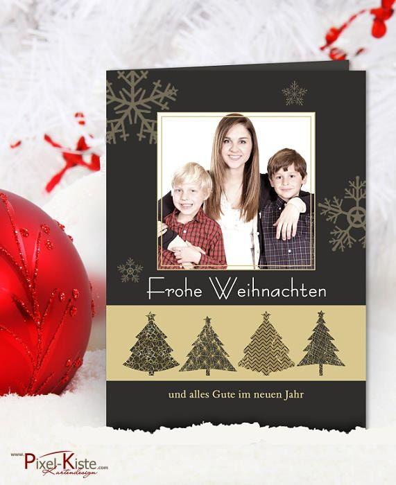 Moderne Weihnachtskarten einfach mit Foto online gestalten und drucken lassen  #weihnachtskarten #fotokarten #christmas #weihnachten
