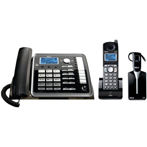 Best price on RCA 25270RE3 ViSYS 2-line Corded/Cordless Landline Telephone with Answering System and Headset  See details here: http://topofficeshop.com/product/rca-25270re3-visys-2-line-cordedcordless-landline-telephone-with-answering-system-and-headset/    Truly a bargain for the inexpensive RCA 25270RE3 ViSYS 2-line Corded/Cordless Landline Telephone with Answering System and Headset! Take a look at this low priced item, read customers' feedback on RCA 25270RE3 ViSYS 2-line…