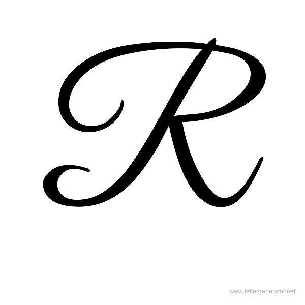 Cursive Letters Alphabet Gallery