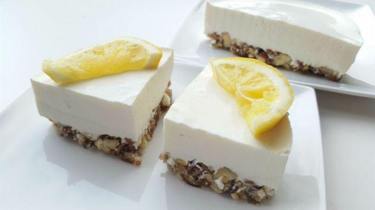Gezonde citroen kwarktaart - Column gezond Leven