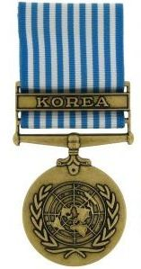 United Nations Service Military Medal & Military Ribbon