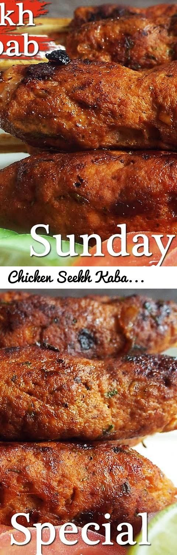 Chicken Seekh Kabab Recipe Bengali Style- How to Make Seekh Kebab- Chicken Keema Kabab Recipe... Tags: chicken seekh kabab recipe, chicken seekh kabab, chicken kabab, seekh kabab recipe, Chicken Rcipes, seekh kebab recipe, seekh kebab, chicken seekh kebab recipe, seekh, kabab recipe, kebab recipe, How to Make Seekh Kebab, Chicken Keema Kabab Recipe, Keema Kabab, Chicken Keema Recipe, Chicken Recipe recipe for seekh kabab, Chicken Seekh Kabab Recipe Bengali Style, Bengali style chicken seek…