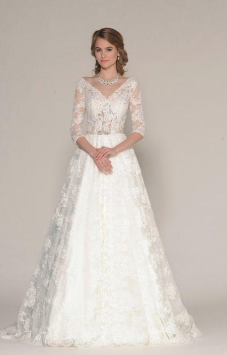 Featured Dress: Eugenia; Wedding dress idea.