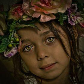 Flower ChildPhotos, Child Christina, Flower Children