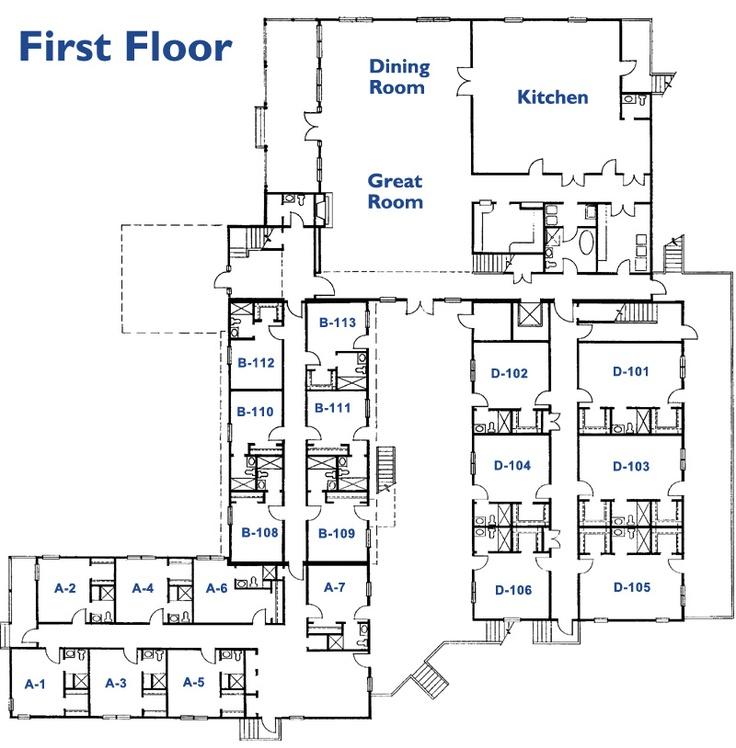 15 best assited living floor plans images on pinterest for House plans for senior living