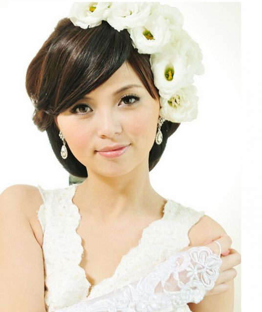 Wedding Hairstyles Asian Hair: 17 Best Images About Wedding Hairstyles & Hair Pieces On