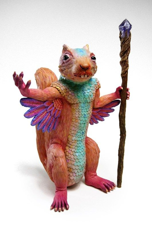 Jim McKenzie Sculpts a World of Twisted Fairytale Characters | Hi-Fructose Magazine                                                                                                                                                                                 More