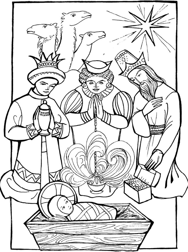 new testiment coloring pages - photo#35