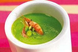 Cream Green Beans- Crema tibia de judía verde con quisquilla