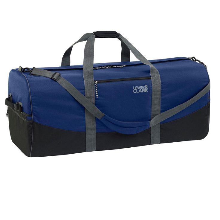 Lewis N Clark Duffel Bag 18in x 36in Navy