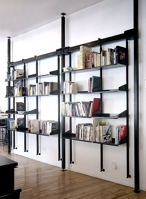 Mobel Design Wand Haus Koln Metal Shelves Metal Bookcase Und