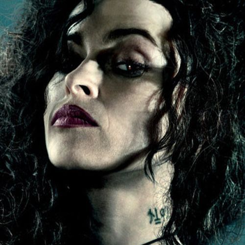 bellatrix lestrange neck tattoo - Google Search