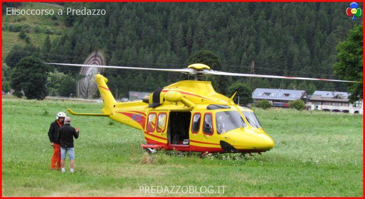 Deltaplano precipita nei boschi di Predazzo