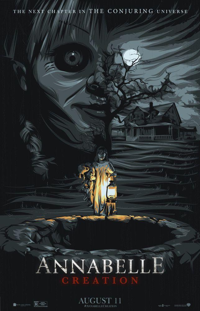 Annabelle Creation Horror Movie Art Horror Posters Horror Movies