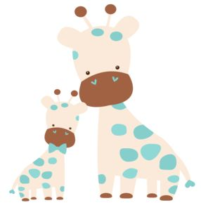Image result for mama baby animal clip art
