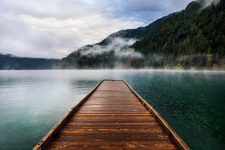 Lake Crescent in Olympic National Park, Washington