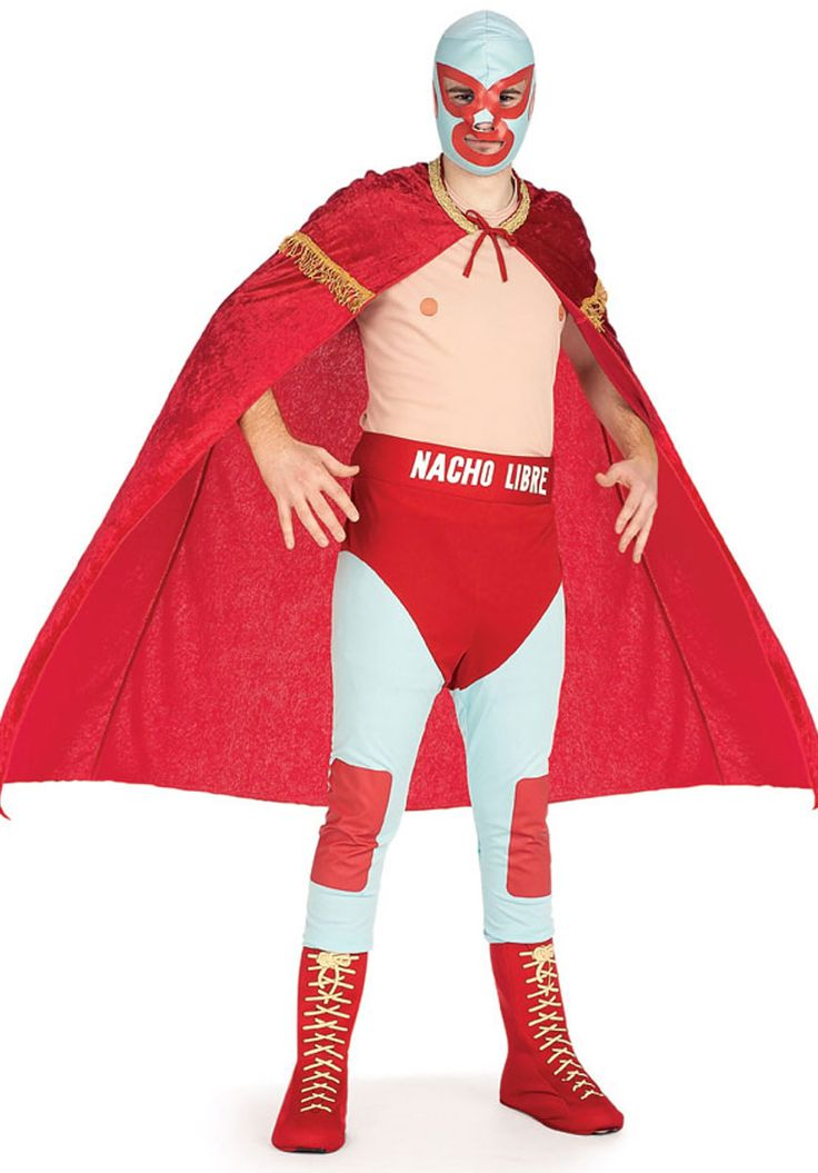 Nacho Libre Mexican Wrestler Fancy Dress Costume - Red Nose Day Fancy Dress at Escapade™ UK - Escapade Fancy Dress on Twitter: @Escapade_UK