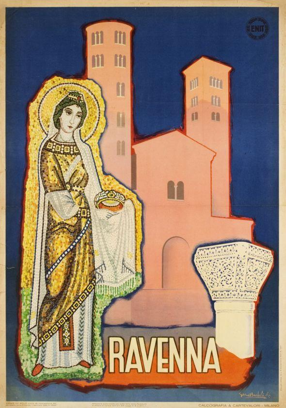 [ #ravenna #myRavenna #illustrator #vintage #posters]