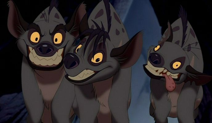 lion king hyenas | Hyenas, as portrayed in The Lion King