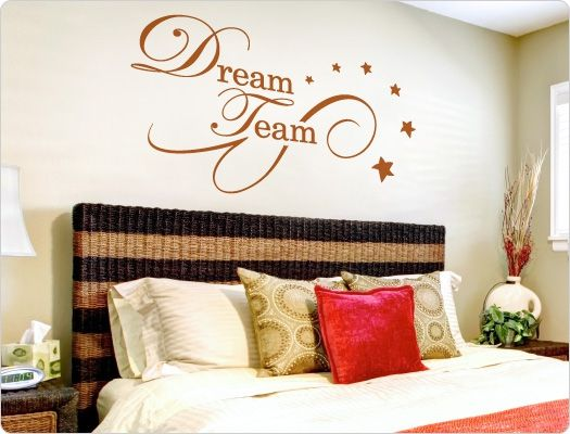 Wandtattoo Dreamteam