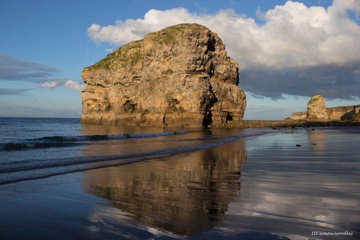 """Marsden Rock"" South Shields, UK. |   Simon C Woodley @simoncwoodley on Twitter"