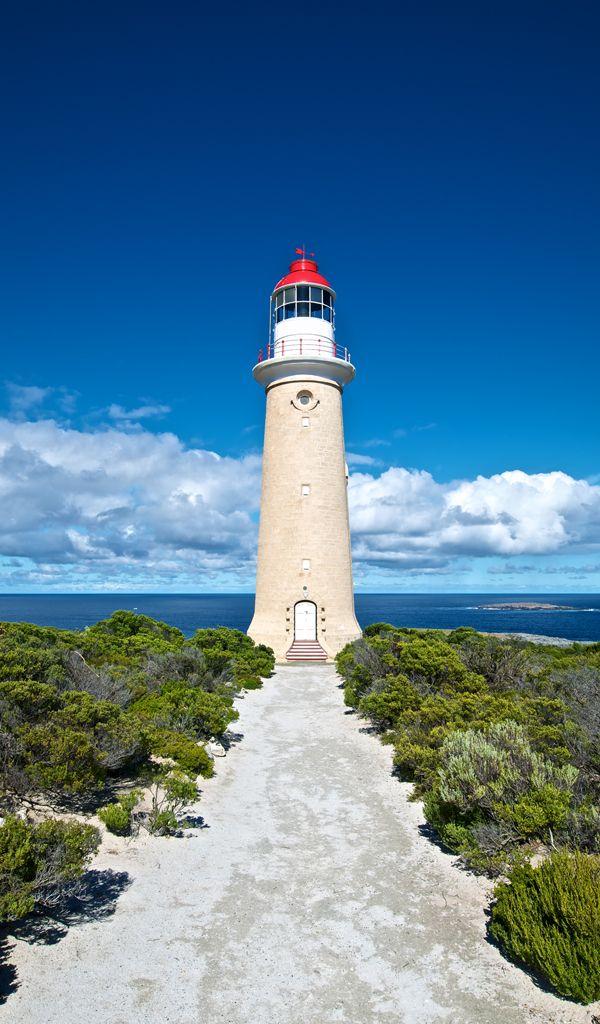 Kangaroo Island Lighthouse, Australia...... Kangaroo Island is located from South Australia