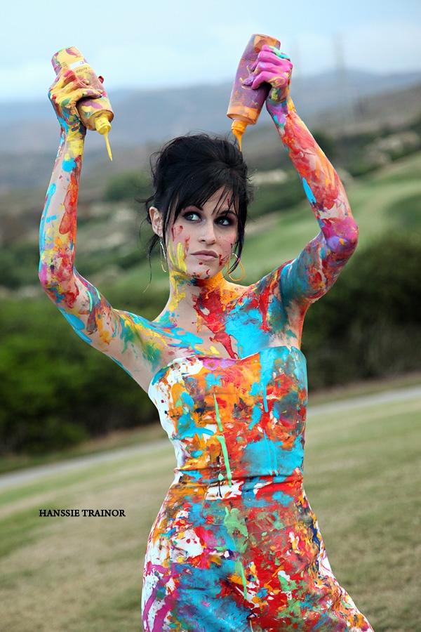 84 best trash the wedding dress images on pinterest for Paint photo shoot ideas