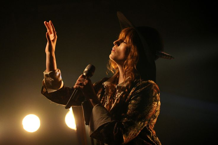 Florence Welch Photos - iHeartRadio LIVE Performance and Q&A With Florence and the Machine - Zimbio