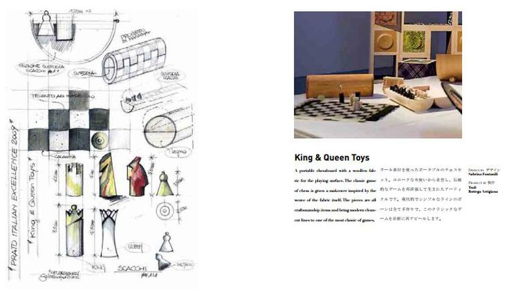 King & Queen Toys #design #toys #wood #chess #scacchi