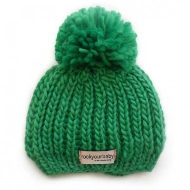 charlie's bucket : Rock Your Baby Hunter Beanie - Green