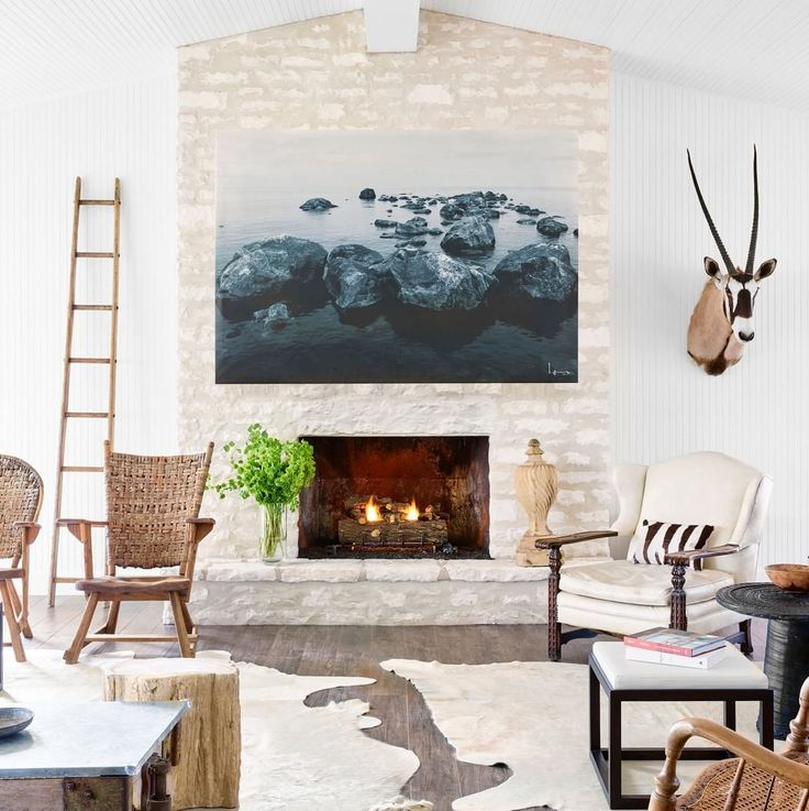 A Ranch House Furnished With Treasures From A Texan