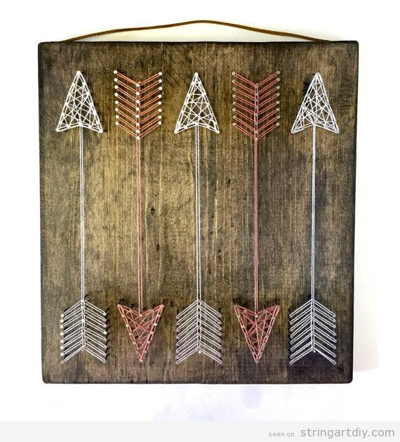 Arrow String Art DIY